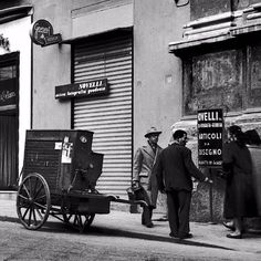 Impressive Street Portraits of Naples Through an Italian Journalist's Lens in the 1950s ~ vintage everyday