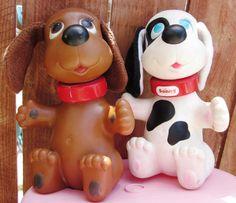 1980s Ideal Rub A Dub Dogs  @lapetitesirene5