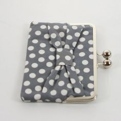 iPad Mini Case,Kindle Fire Case,Nook HD Case, Nexus 7 Cover, Nook Cover, Kindle Fire Sleeve, Ereader Clutch Case Sleeve Cover Polka Dot Bow