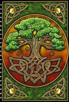 Stunning Tree of Life blank card with Celtic knot border Pagan Wiccan Freepost in Home, Furniture & DIY Cross Stitching, Cross Stitch Embroidery, Cross Stitch Patterns, Celtic Cross Stitch, Stitching Patterns, Cross Stitch Tree, Celtic Patterns, Celtic Designs, Celtic Symbols