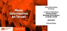En Ciudadanos C's Teruel esperamos vuestras propuestas.  Teruel será lo que queramos los turolenses.
