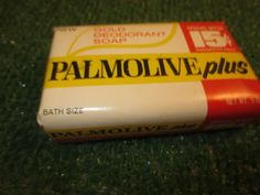 VINTAGE PALMOLIVE PLUS GOLD DEODORANT SOAP BATH SIZE 5 OZ BAR