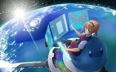 water clouds earth glasses science fiction meganekko anime anime girls space 1500x944 wallpaper_wallpaperswa.com_11.jpg (600×377)