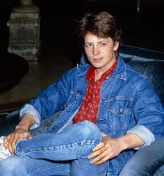 Michael J. Fox in the 1980's. Still feel so bad that he has Parkinson's today, but I'm so glad she's making a comeback with his new show!