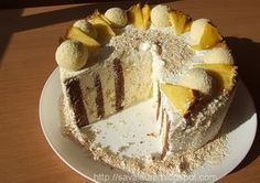 Tort spirala cu ananas