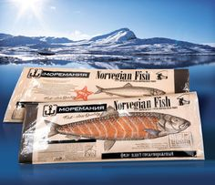 Food Branding, Food Packaging Design, Brand Packaging, Branding Design, Sustainable Seafood, Fish Logo, Smoked Fish, Raw Food Recipes, Salmon