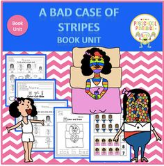 A Bad Case of the Stripes by David Shannon Camilla Cream loves lima beans, but she never eats them. Why? Because the other kids at her school don't like them. And Camilla Cream is very, very worried about what other people think of her. In fact, she is so worried that she's about to break out in ....A BAD CASE OF THE STRIPES!