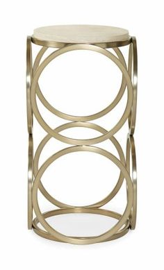 Salon Accent Table with Geometric Metal Base by Bernhardt at Belfort Furniture Sofa Tables, End Tables, Coffee Tables, Large Furniture, Modern Furniture, Furniture Stores, Furniture Companies, Furniture Online, Furniture Outlet
