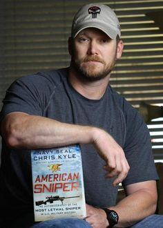 chris kyle....I loved the movie. I think we could have been friends!