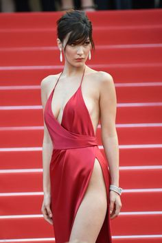 10 Things I, a Real Live Woman, Could Never Do in Bella Hadid's Ridiculously Sexy Cannes Dress