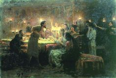 """One of You Shall Betray Me""  Ilya Repin    1896"