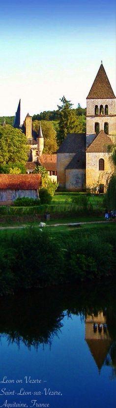 Saint-Leon-sur-Vezere. Aquitaine, FRANCE