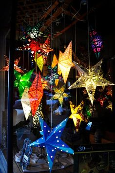 Paper star lanterns... 2013 HeartLink Gala will highlight our work in Vietnam.
