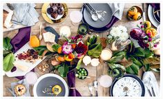 DIY Set The Perfect Holiday Table by Apartment 34