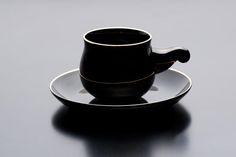 Cup & Saucer「黒衣」 - TATUYA ISHII | Origami