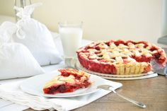 Berries pie #berriesfromthegarden #freshlypicked #homemadepie @Cincsor.Transylvania.Guesthouses Homemade Pie, Waffles, Berries, Breakfast, Desserts, Food, Gourmet, Morning Coffee, Tailgate Desserts
