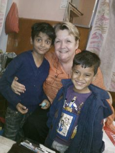 Adele with Monkey 1 and Monkey 2, in their home in Jaipur, India, Dec. 2013. Love those little ones!