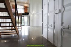 Home Decorating Style 2020 for Container House Design Interior Decorating, you can see Container House Design Interior Decorating and more pictures for Home Interior Designing 2020 at Container House Rustic Tiny Homes. Cargo Container Homes, Building A Container Home, Storage Container Homes, Container Buildings, Container Architecture, Container House Design, Luxury Interior, Interior Architecture, Shipping Container House Plans