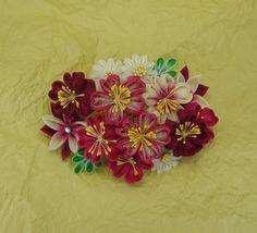 桜の髪飾り - 和の結婚式~江戸つまみかんざし~ - Yahoo!ブログ