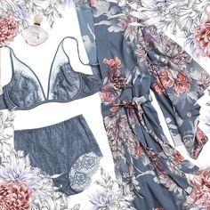 Soma Intimates Collaboration - Artist Brush Chiffon Robe