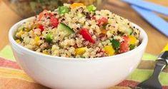 7 Benefits of Quinoa: The Supergrain of the Future Quinoa Salad Recipes, Soup Recipes, Vegetarian Recipes, Quick Recipes, Healthy Recipes, Quinoa Health Benefits, Salada Light, Salad Ingredients, How To Cook Quinoa