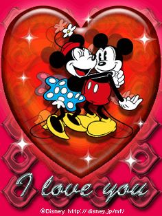 Disney Minnie and Mickey Mouse Disney Magic, Disney Art, Walt Disney, Mickey And Minnie Love, Mickey Mouse And Friends, Minnie Mouse Pictures, Disney Pictures, Disney Pics, Mickey Mouse Wallpaper