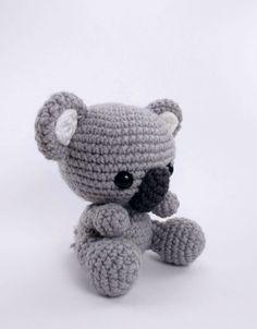 Kimba the Koala amigurumi pattern by Theresas Crochet Shop