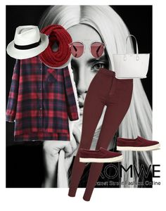 """""""ROMWE CONTEST"""" by azra-2709 ❤ liked on Polyvore featuring Topshop, Lauren Ralph Lauren, Keds and Christian Dior"""