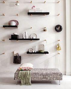 Sárzena: Las 10 baldas y estanterías más originales.