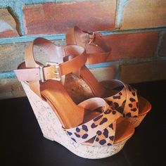 leopard print wedges, perfect! uggcheapshop.com    $89.99  pick it up! ugg cheap outlet and all just for lowest price # boots for this winter