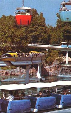 Transportation was an important theme in Walt Disney's New Tomorrowland '67 | Disney Avenue