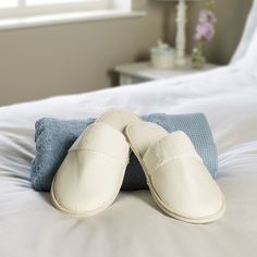 Chaussons de luxe Satinées Ritz (paire) |King of Cotton