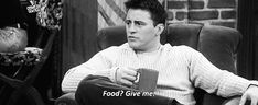 """When there was only one response to the word """"food."""" 