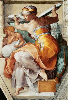 Michelangelo Buonarroti - The Libyan Sibyl