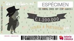 cautela - lotaria À portuguesa