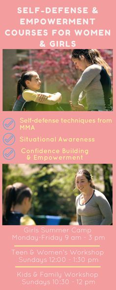 Learn self-defense from  Top Ranked Female MMA Fighter from Toronto! Our Girls Summer Camp (age 7-15) is starting July 17th at 777 Warden Avenue, Scarborough. For more information go to www.girlswhofight.ca or email girlswhofightto@gmail.com ! Looking forward to working with you amazing ladies!