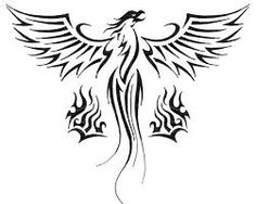 Image result for feminine phoenix design