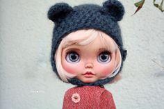 RESERVED Peach custom Blythe doll by Jodiedolls by Jodiedolls