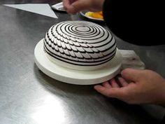 Décoration glaçage à gâteau