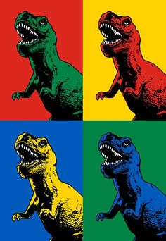 the life of ryan dino andy warhol – like t-rew dinosaur - Art ideas Wallpaper Animes, Pop Art Wallpaper, Andy Warhol Pop Art, Dinosaur Wallpaper, Portrait Photos, Japon Illustration, Dinosaur Art, Dinosaur Dinosaur, Jean Michel Basquiat
