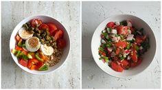 Wytrawne płatki owsiane z warzywami. Pomysł na śniadanie, obiad i na kolację
