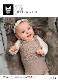 Se her og udskriv din gratis opskrift! Knitted Romper, Knitted Dolls, Knitting For Kids, Baby Knitting Patterns, Baby Sensory Toys, Baby Barn, Our Baby, Kids And Parenting, Baby Dress