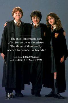 Harry Potter the golden trio Harry Potter Jk Rowling, Harry Potter Hermione, Harry Potter Jokes, Harry Potter Universal, Harry Potter Fandom, Harry Potter Characters, Harry Potter World, Ron Weasley, Hermione Granger