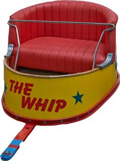 Car from the ride The Whip at Palisades Amusement Park! Remember it well!!