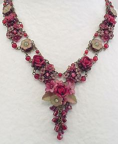 Pink Necklace by Colleen Toland