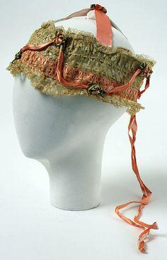 1920s boudoir cap via Met Museum.