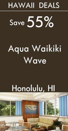 Honolulu - Hawaii: Aqua Waikiki Wave Hotel | Stylish boutique hotel close to Waikiki Beach | View All To-Day's Deals! Waikiki Beach, Honolulu Hawaii, Last Minute Vacation Deals, Holiday Deals, Champs Elysees, Beautiful Places, Aqua, Waves, Boutique