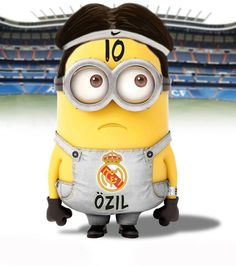Cristiano Ronaldo in minion form awwwww w Cute Minions, My Minion, Pumas, Cristiano Ronaldo, Soccer Room, Real Madrid Soccer, Football Memes, Despicable Me 2, Tottenham Hotspur
