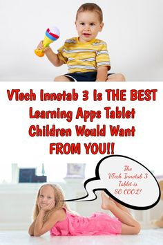 The VTech Innotab 3 Is THE coolest gifts for kids!