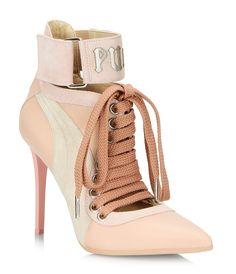 LACE UP HEEL BY RIHANNA - BrownsShoes